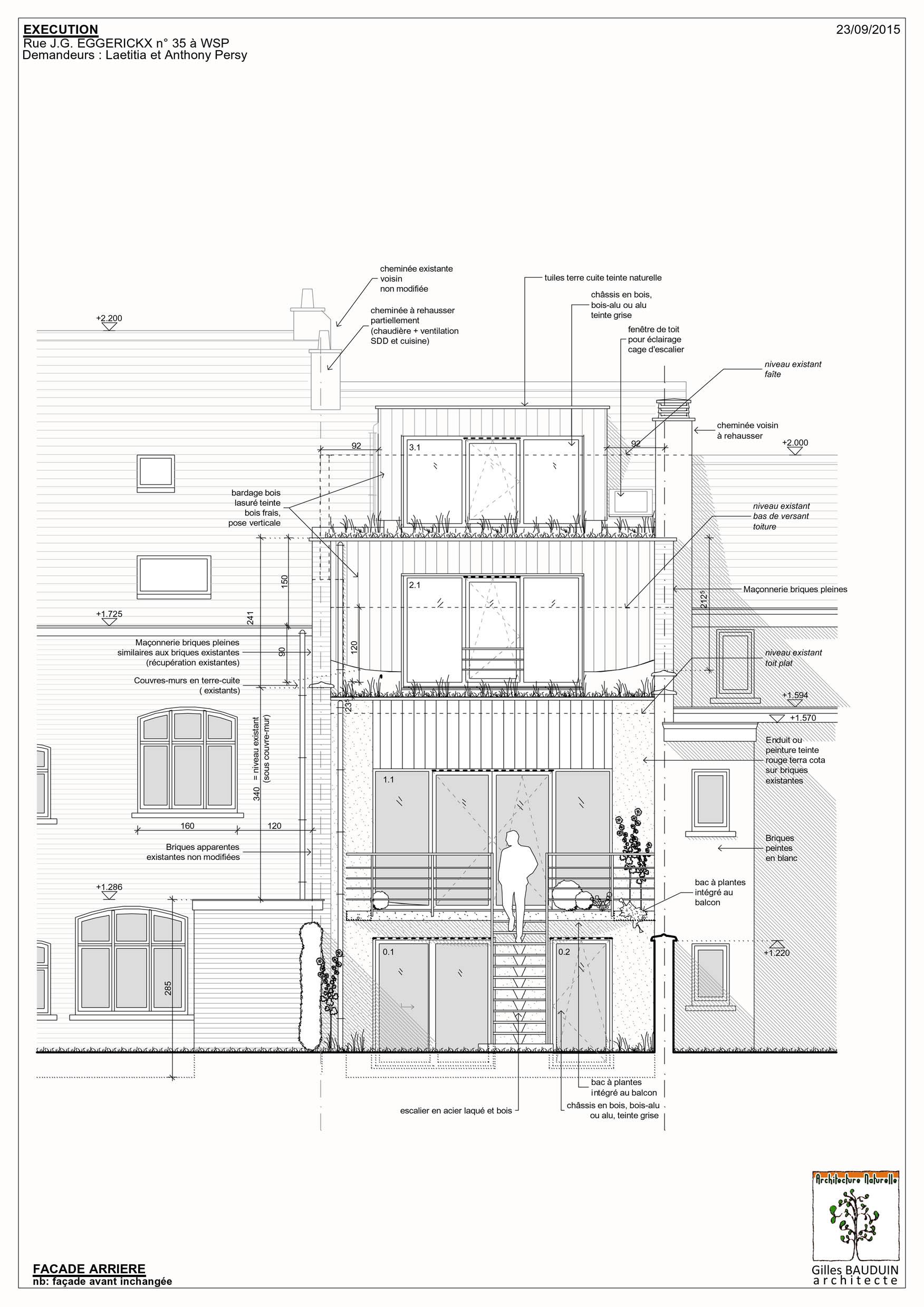 Projets darchitecture écologique basse énergie maison passive en bio construction ossature bois isolants naturelsetc