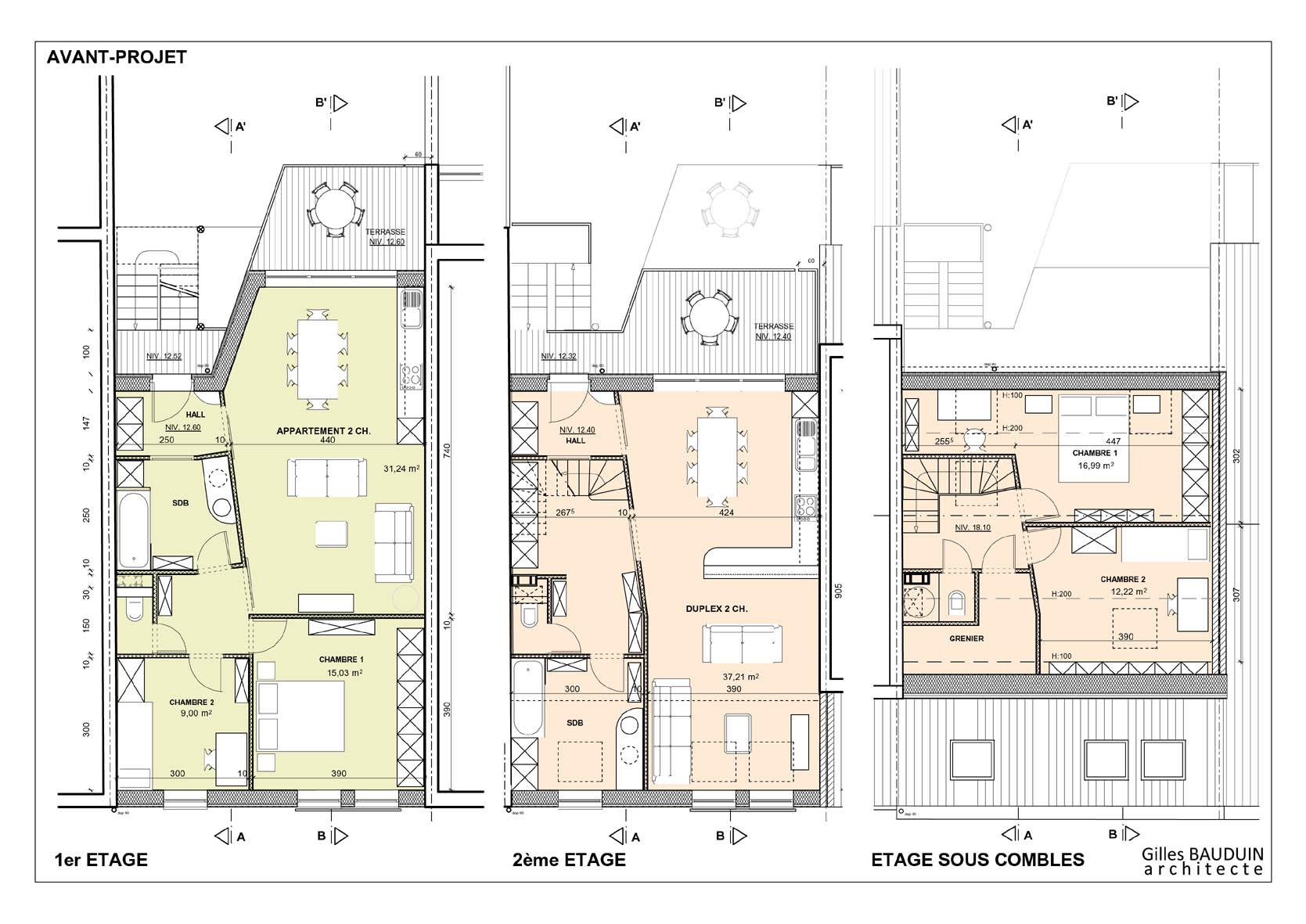 Plan Maison 800m2